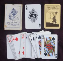 Collectable vintage adverting playing cards Gaymer cider